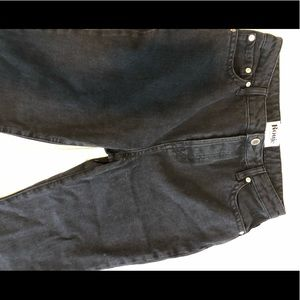 Rouje black flare/bootcut jeans